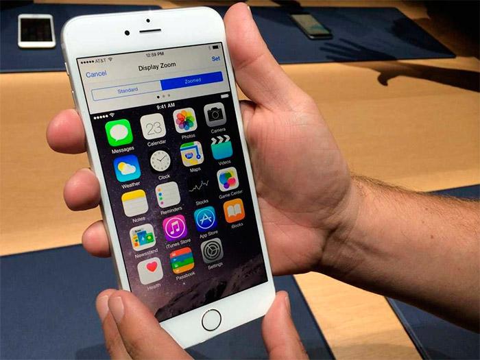 Redimensionar la pantalla del iPhone