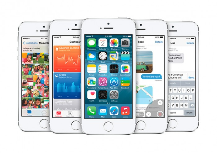 Rendimiento de un iPhone 5s con iOS 8.1