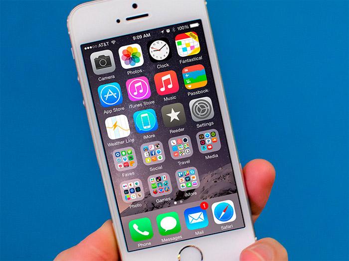 Rendimiento de un iPhone 5s con iOS 8