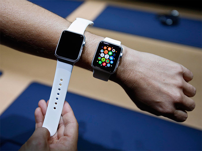 Resoluciones de pantalla del Apple Watch