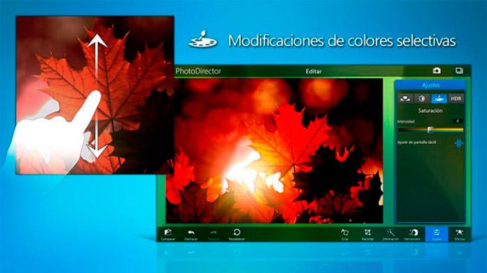 Retoca fotos con PhotoDirector