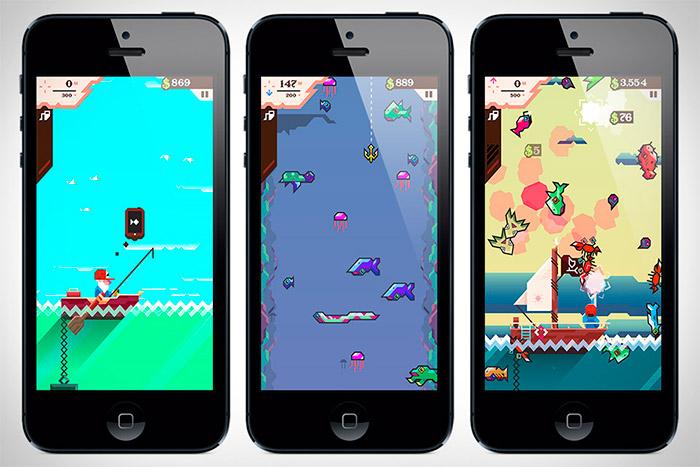 Ridiculous Fishing para iPhone