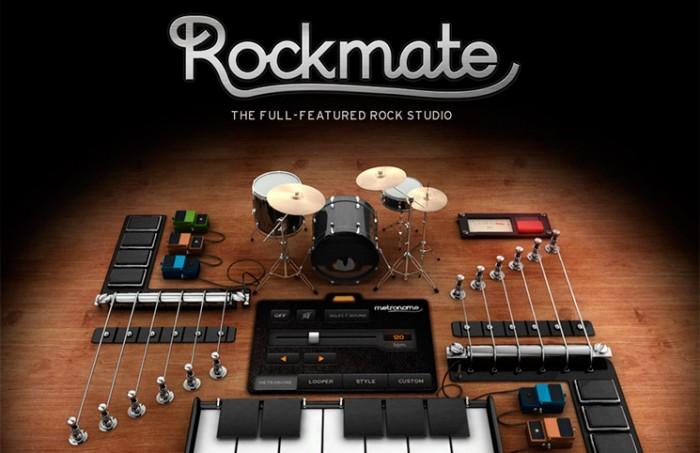 Rockmate toda una banda de música en tu iPad