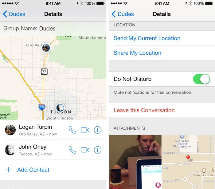Silenciar mensajes de contactos en iOS 8