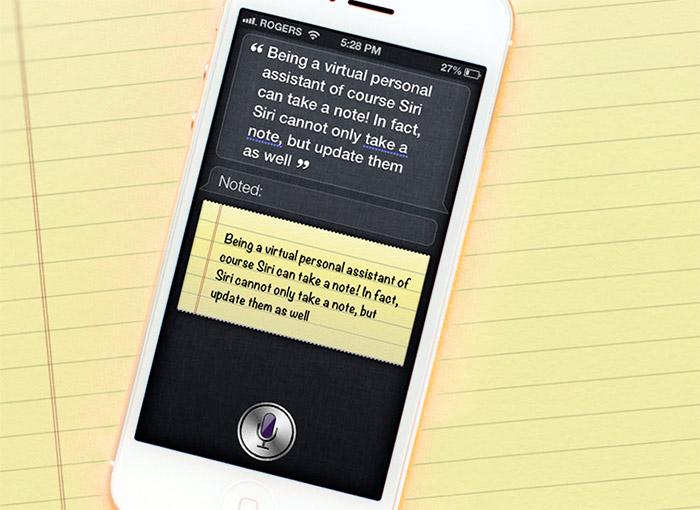 Siri es la mejor de las agendas
