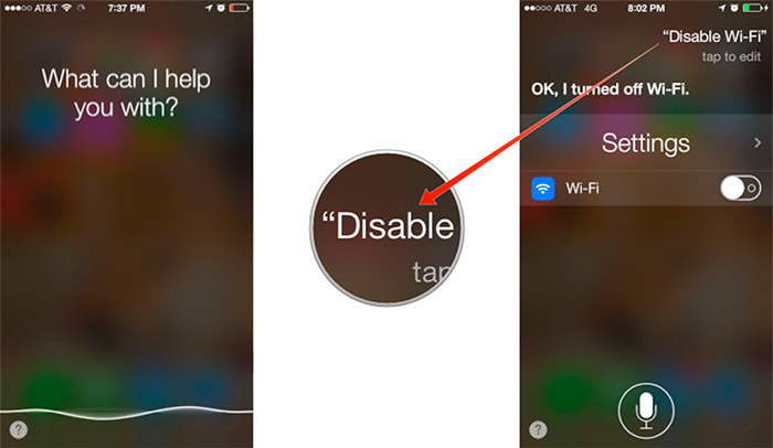 Siri se encarga de tus configuraciones