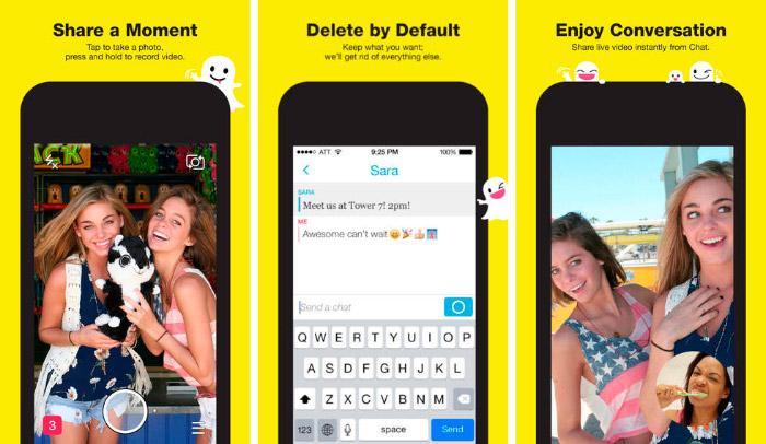 Snapchat, la app de mensajería instantánea