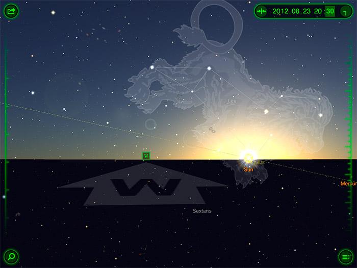 Star Walk, observa el universo con el iPad