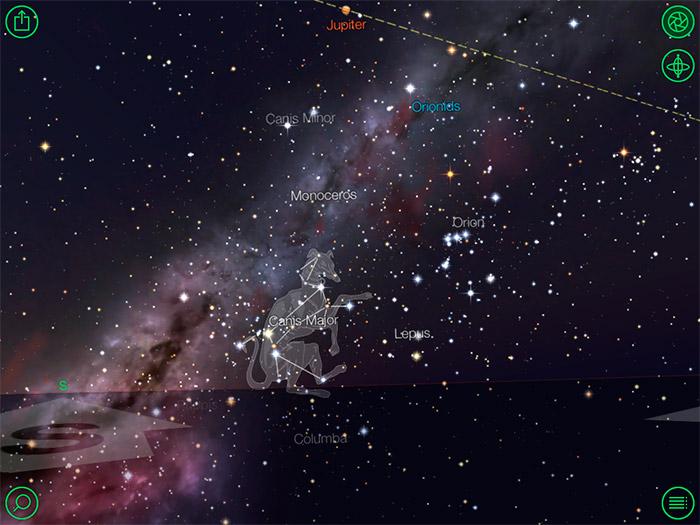 Star Walk, observa el universo