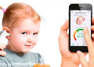 Termómetro inteligente para bebés Swaive
