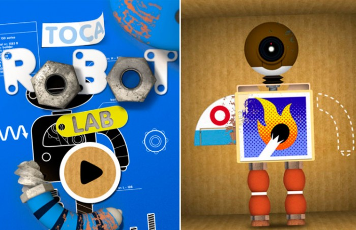 Toca Robot Lab gratis para iPhone y iPad