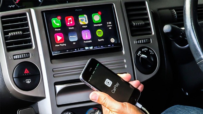 Touch ID con CarPlay