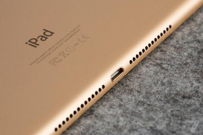 Trasera del iPad Air 2