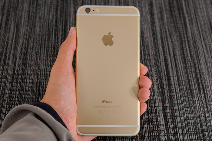 Trasera del iPhone 6 Plus