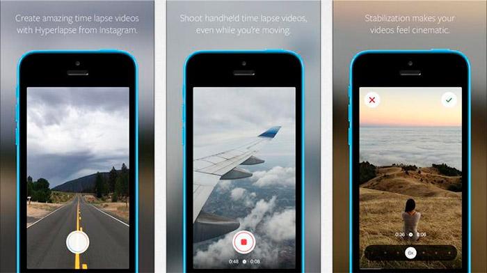 Vídeos Hyperlapse en time-lapse