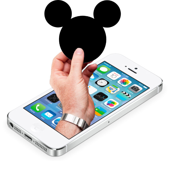 Walt Disney World con ApplePay