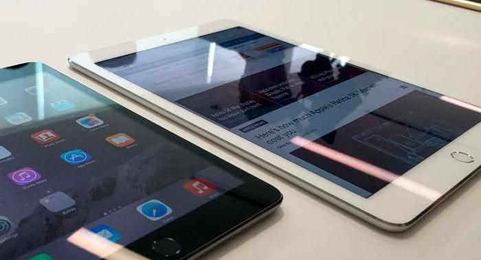 iOS 8 en iPad Air 2