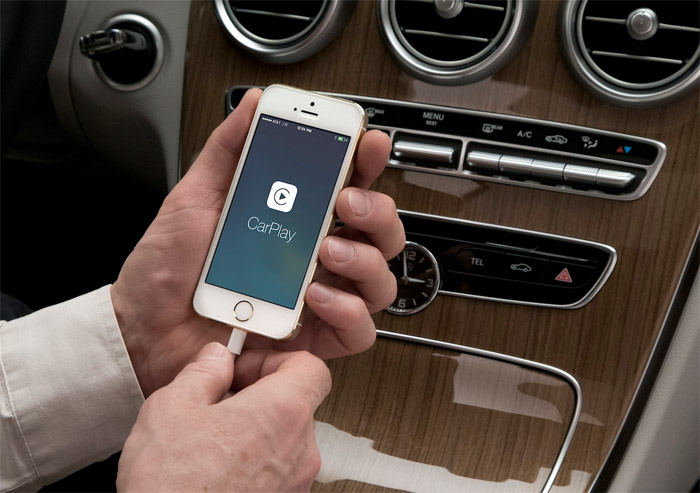 iPhone con CarPlay