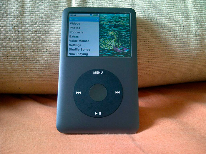iPod Classic en negro